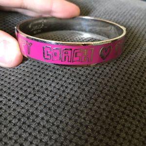 Coach Poppy bangle bracelet